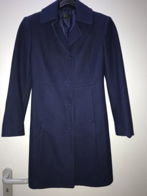 Benetton Wool Coat blue