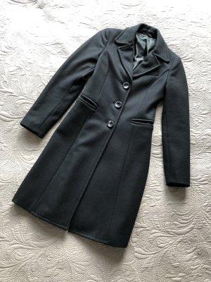 Benetton Abrigo de lana negro