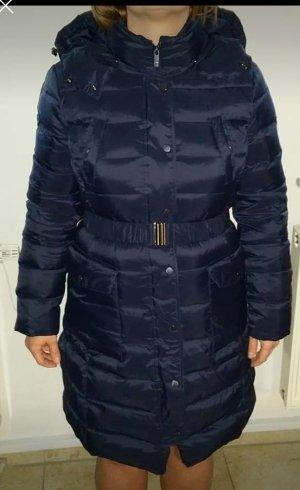 Benetton Down Coat dark blue