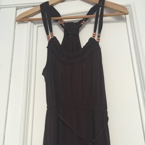 Benetton maxikleid braun