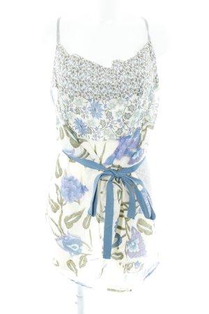 Benetton Minikleid florales Muster