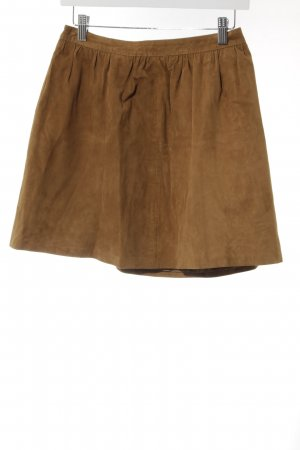 Benetton Minirock braun Casual-Look