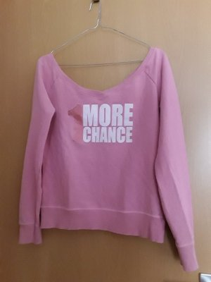 Benetton Boatneck Shirt pink cotton