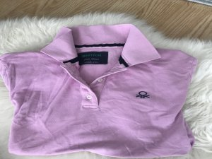 Benetton Polo Shirt in rosa