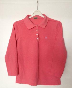 Benetton Poloshirt für Damen,, 3/4 Ärmel, Gr. 42