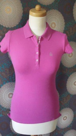 Benetton Poloshirt pink