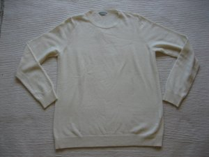 Benetton Pullover in cashmere bianco sporco