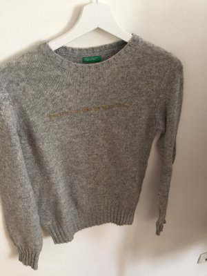 Benetton Knitted Sweater grey