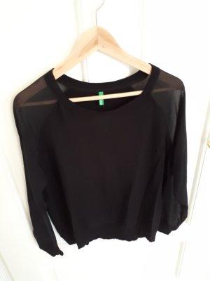 Benetton Sweater zwart