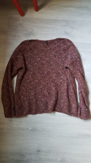 Benetton Pull bordeau