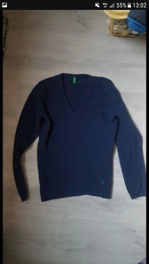 Benetton Sweater donkerblauw
