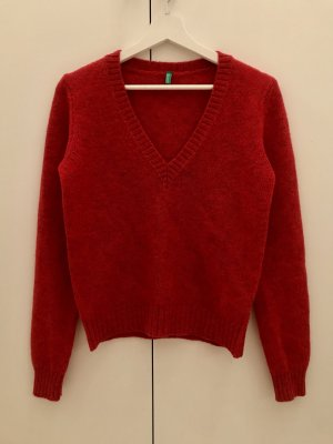 Benetton V-Neck Sweater multicolored