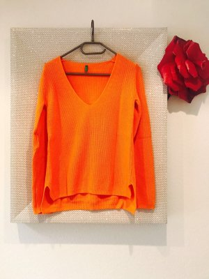 Benetton Sweater oranje