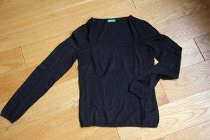 BENETTON Pullover / schwarz