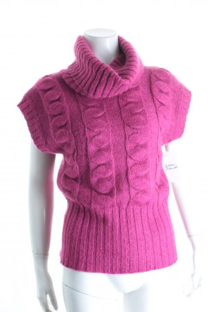 Benetton Pullunder magenta Casual-Look