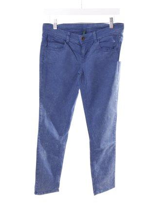 Benetton Röhrenjeans blau