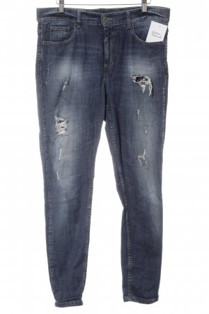 Benetton Röhrenjeans blau Casual-Look