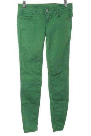 Benetton Röhrenjeans grün Casual-Look