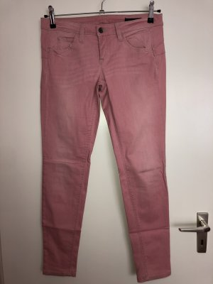 Benetton roséfarbene Jeans Skinny Pin up