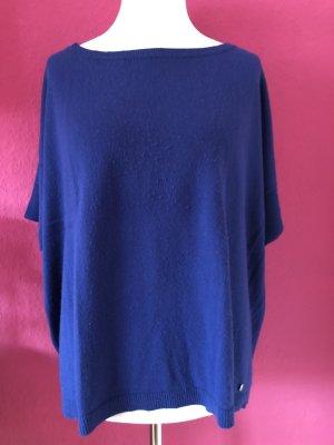 Benetton Oversized trui blauw Wol