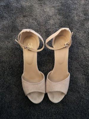 Benetton High Heel Sandal beige