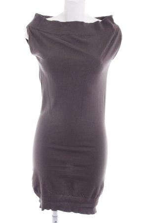 Benetton Schlauchkleid graulila schlichter Stil