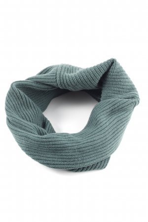 Benetton Tube Scarf green casual look