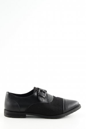 Benetton Slip-on Shoes black business style