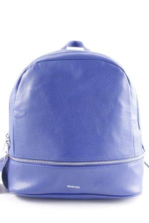 Benetton Zaino per la scuola blu stile casual