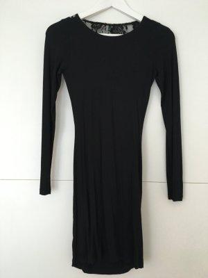 Benetton schwarzes kleid