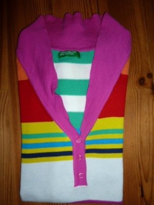 Benetton Polo multicolore coton