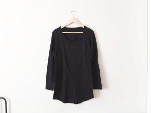 Benetton Shirt Kleid Gr. M 38 Jersey basic trend khaki longsleeve