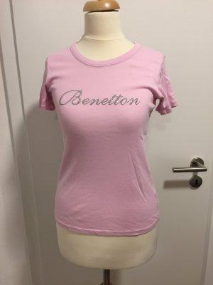 Benetton Shirt rosa T-shirt