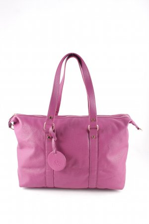 Benetton Shopper purpur Casual-Look