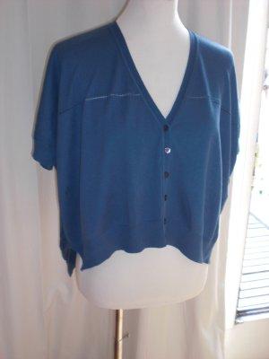 Benetton short Pulli in schönem Blau