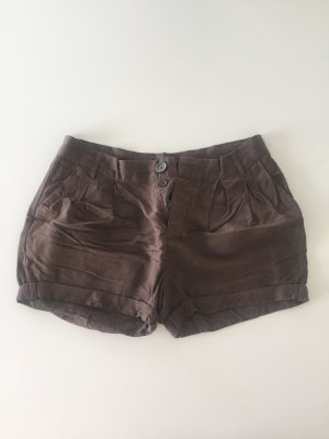 Benetton Short bronze laine angora