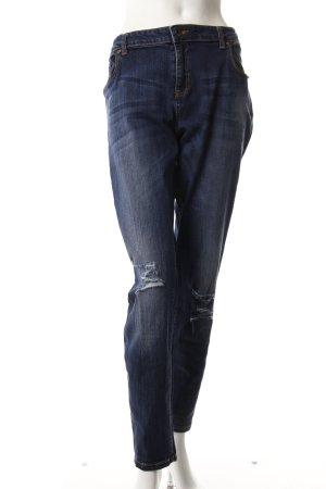 Benetton Skinny Jeans dunkelblau