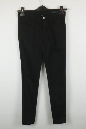 Benetton Skinny Jeans Gr. 28 black denim