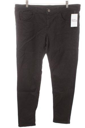 Benetton Skinny Jeans schwarz Casual-Look
