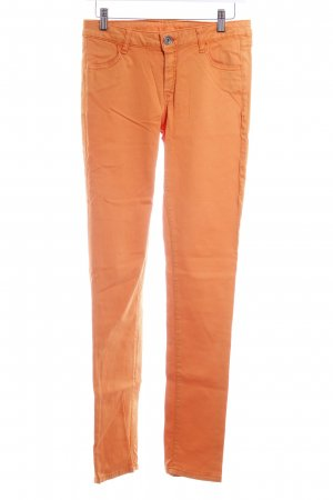 Benetton Slim Jeans orange Casual-Look