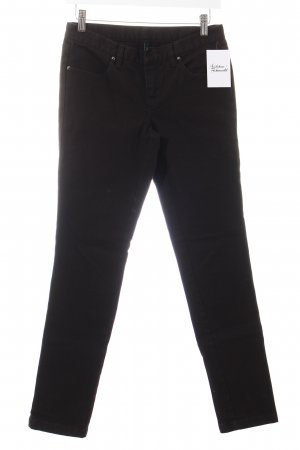 Benetton Slim Jeans schwarz Casual-Look