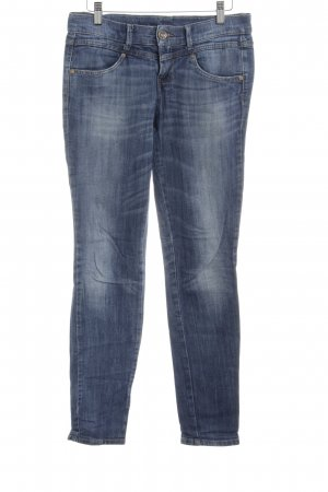 Benetton Slim Jeans stahlblau Casual-Look