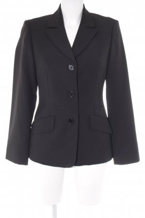 Benetton Smoking-Blazer schwarz Business-Look