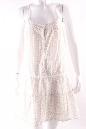 Benetton Sommerkleid mit Silberfäden