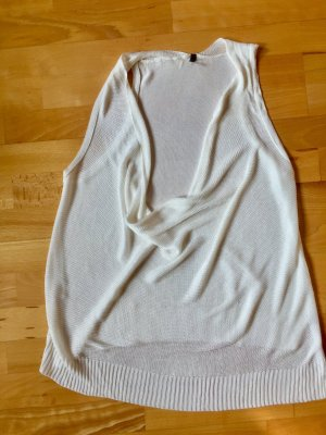 Benetton Sommershirt/Baumwollgarn ohne Ärmel