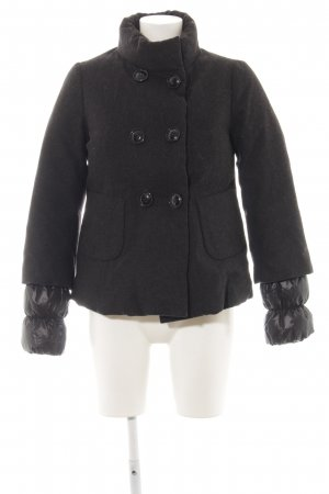 Benetton Steppjacke schwarz Casual-Look