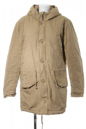 Benetton Quilted Coat natural white casual look