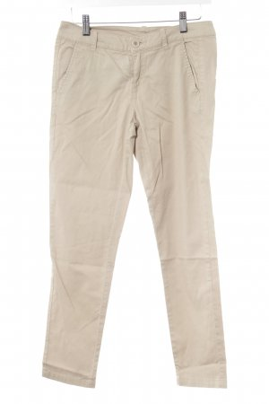 Benetton Stoffhose sandbraun Casual-Look