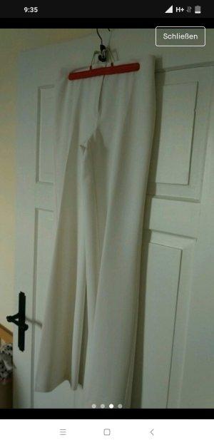 Benetton Pantalone jersey bianco