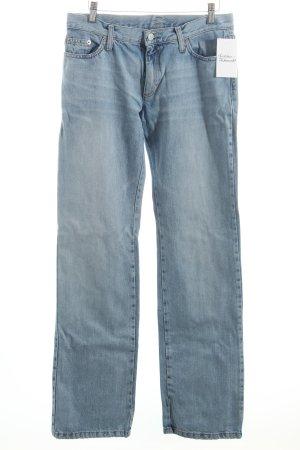 Benetton Straight-Leg Jeans himmelblau Casual-Look